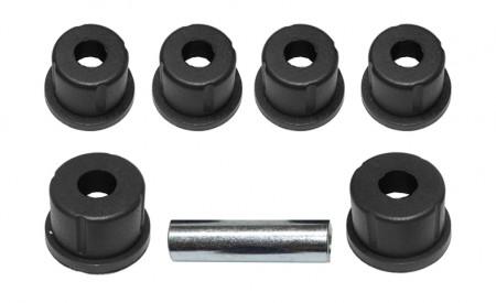 Polybuchsen schwarz passend für 1 Hinterachsblattfeder Suzuki LJ80