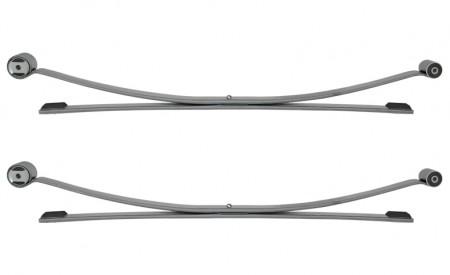 Zwei Blattfedern für Peugeot Boxer Typ 250 mit 1+1 Lagen, Baujahre ab 2006