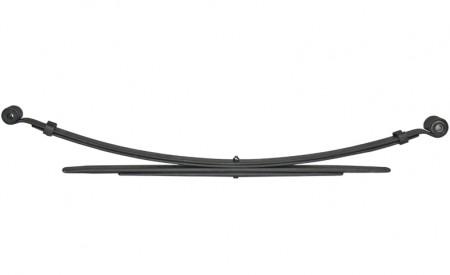 Eine Blattfeder für Nissan Pathfinder R50 mit 2+2 Lagen, bis Baujahr 2005