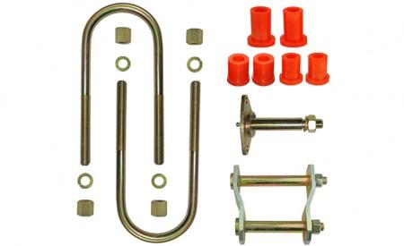 Montagekit für eine Blattfeder B2000, B2200, B2500 oder B2600, 7 Lagen 1961-2006