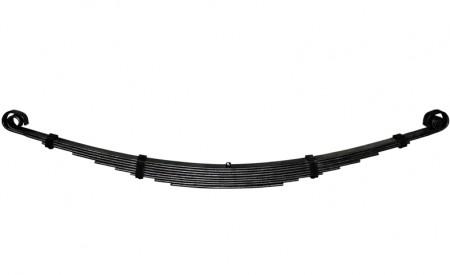 Eine Blattfeder Hinterachse für Ford GPW mit 9 Lagen