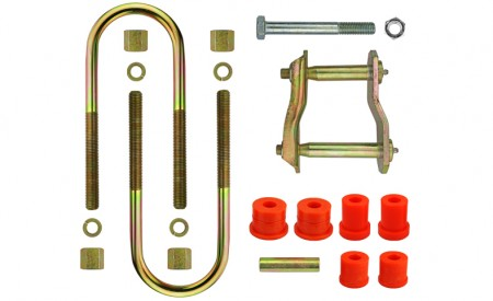 Montagekit für eine Blattfeder Daihatsu Rocky Vorderachse (auch Bertone)