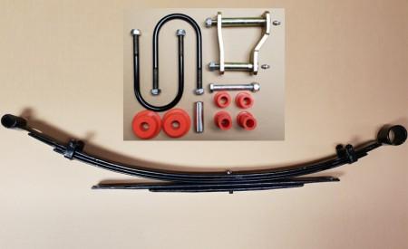 Eine Blattfeder + Montagekit für Ford Ranger TKE mit 3+2 Lagen, ab Bj. 2011
