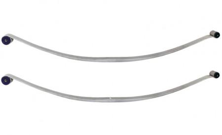 Zwei Blattfedern für Mercedes Sprinter (Typ 902) 208D - 212D, Bj. 95-06 Hinterachse mit 1 Lage