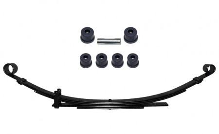 Eine Blattfeder verstärkt für Suzuki SJ413 Hintererachse mit 5Lagen+Polyurethan Buchsen Set