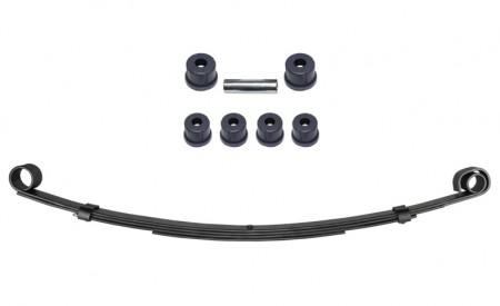 Eine Blattfeder verstärkt für Suzuki SJ413 Vorderachse mit 4Lagen+Polyurethan Buchsen Set