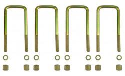 4 Federbügel für zwei Mitsubishi L200 Blattfedern 4+1 Lagen (Bj. 2006-2015)