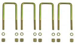 4 Federbügel für zwei Mitsubishi L200 Blattfedern 5+1 Lagen (Bj. 2006-2015)