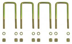 4 Federbügel für zwei Mitsubishi L200 Blattfedern 4+2 Lagen (ab Bj.2015)