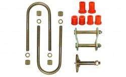 Montagekit für eine Blattfeder B2000, B2200, B2500 oder B2600, 5 Lagen 1961-2006