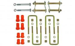 Montagekits für zwei Blattfedern Mitsubishi L200, (4+2 Lagen) Baujahr 2006-2015
