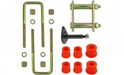 Montagekit für eine Blattfeder mit 4 Lagen Nissan Pathfinder R50, Bj. bis 2005