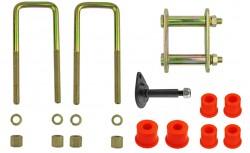 Montagekit für eine Blattfeder verstärkt mit 5 Lagen Nissan Pathfinder R50, Bj. bis 2005