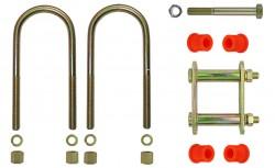 Montagekit für eine Blattfeder mit 4+1 Lagen, für ISUZU D-Max, Baujahre 2002-2012