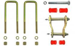 Montagekit für eine Blattfeder mit 3+2 Lagen, für ISUZU D-Max, Baujahre ab 2012