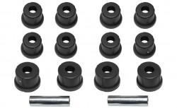 Polybuchsen schwarz passend für 2 Blattfedern Suzuki LJ80